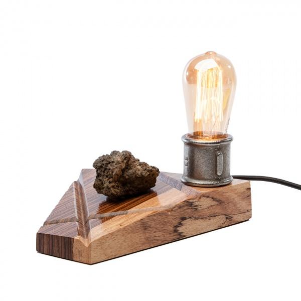 Lampka stołowa ręcznie robiona Custom X Custom Woods CL-013