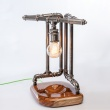 Lampka stołowa ręcznie robiona Eyjafjallajokull Custom Woods CL-018