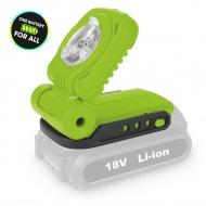 Latarka akumulatorowa Li-Ion 18V Fieldmann zielona