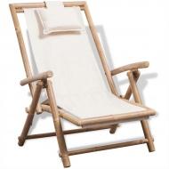 Leżak tarasowy, bambus