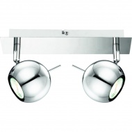 Listwa 7x25cm Lampex Vigo 2 srebrna