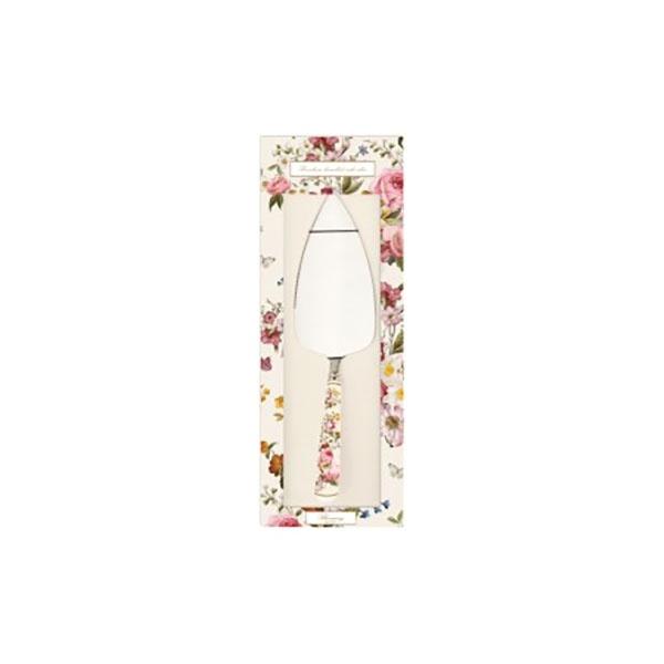 Łopatka do ciasta z porcelanowym uchwytem Nuova R2S Blooming Opulence biały kwiaty 967 BLOC