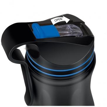 Kubek termiczny 0,55l Lamart czarno-niebieski
