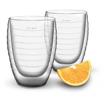 Szklanki termiczne 2szt. 370ml Lamart Vaso przezroczyste