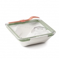 Lunch Box 0,88 l BLACK+BLUM Box Appetit oliwkowy