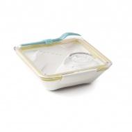 Lunch Box 0,88 l BLACK+BLUM Box Appetit żółto-biały
