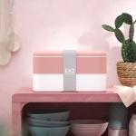 Lunchbox Bento Original, Pink Flamingo