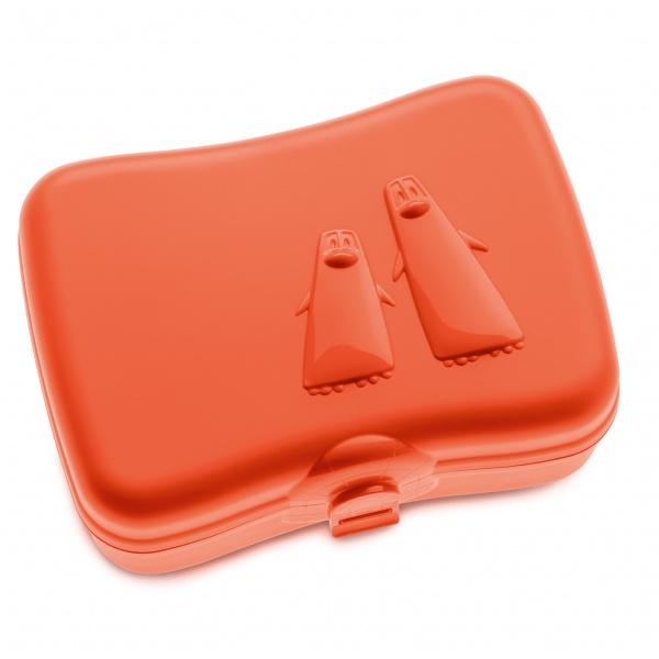 Lunchbox Koziol Ping Pong pomarańczowo-czerwony KZ-3150633