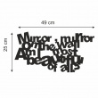 Lustro dekoracyjne DekoSign MIRROR plexi DS-L300