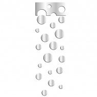 Lustro dekoracyjne WHEELS SET DekoSign Mirror plexi