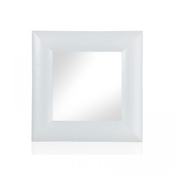 Lustro ozdobne 64x64cm Brandani Opaque S biały 54042