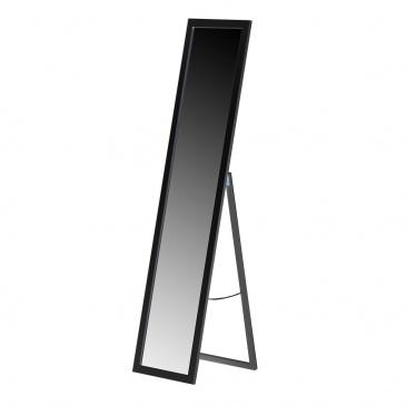 Lustro Stojące Dekoracyjne 36x156cm Anatomia Wnętrza Czarne