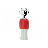 Magnes Alessandro M biały/czerwony