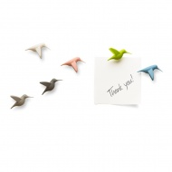 Magnesy Hummingbird pastelowe 10102-PT