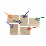 Magnesy strzałki Arrow kolorowe 10228-MX