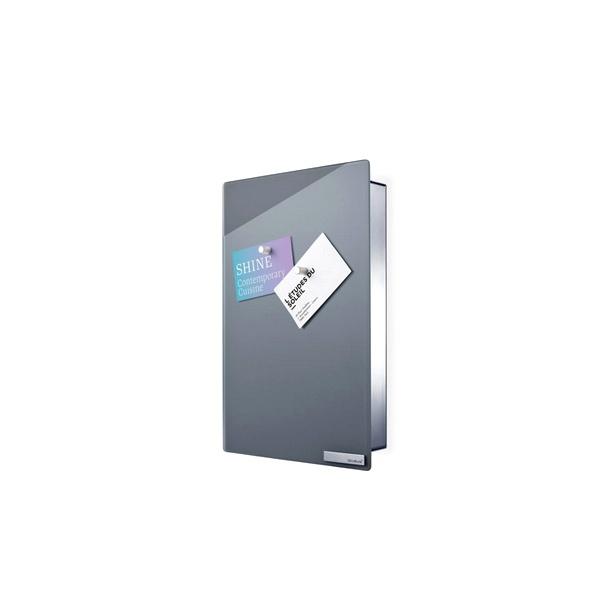 Magnetyczna skrzynka na klucze 30x20x5cm Blomus Velio pionowa szara B65372