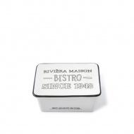 Maselniczka Bistro Butter Dish S Riviera Maison