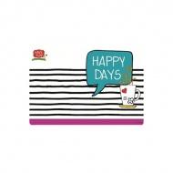Mata stołowa Happy Days 45x30cm Nuova R2S Have Fun