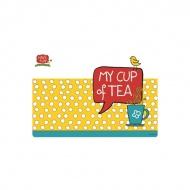Mata stołowa My Cup of Tea 45x30cm Nuova R2S Have Fun