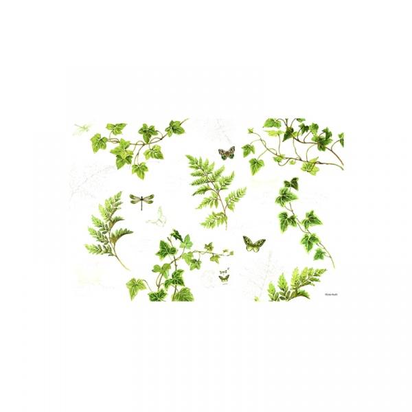 Mata stołowa Nuova R2S Romantic zielona 550 IVIE