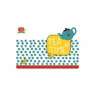 Mata stołowa Tea Time 45x30cm Nuova R2S Have Fun