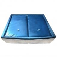 Materac do łóżka wodnego z wkładką i separatorem 200x200 cm F5