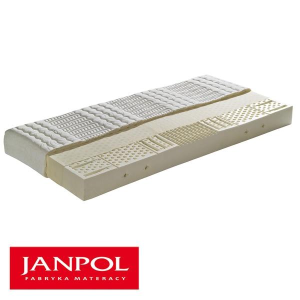 Materac lateksowy 160x200 Janpol Demeter DEMETER160x200
