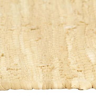 Maty na stół, 4 szt, Chindi, gładkie, beżowe, 30x45 cm, bawełna