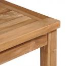 Meble jadalniane do ogrodu, 5 części, lite drewno tekowe