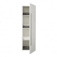 Meble łazienkowe - szafka wisząca łazienkowa biała - Monica