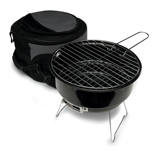 Mini grill z torbą termiczną 32 cm Sagaform BBQ czarny SF-5002801
