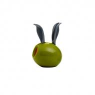 Mini młynek do pieprzu z magnesem 11 cm Chef'n Garden Variety zielona oliwka