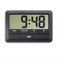 Minutnik elektroniczny 10x7x1cm ADE czarny