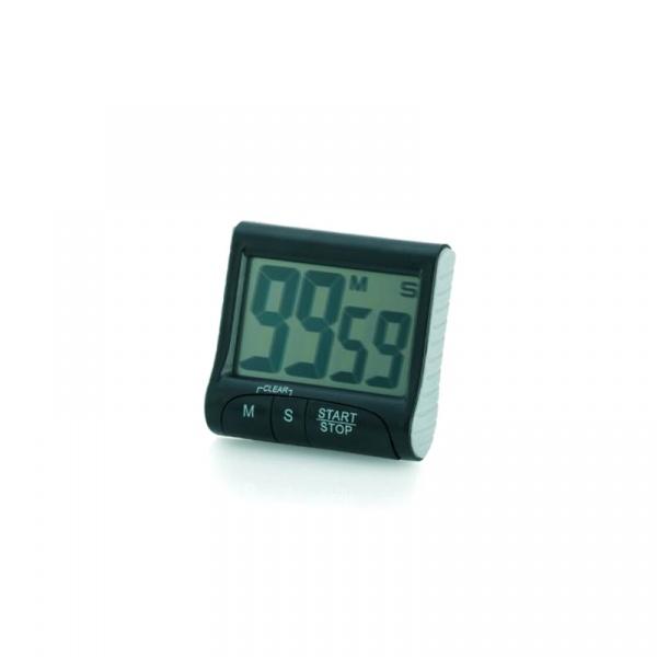 Minutnik elektroniczny Kela Tempus czarny KE-10802