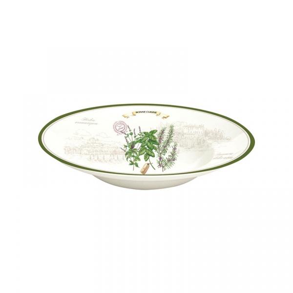 Misa porcelanowa 30cm Nuova R2S Cuisine Maison 818 HERB