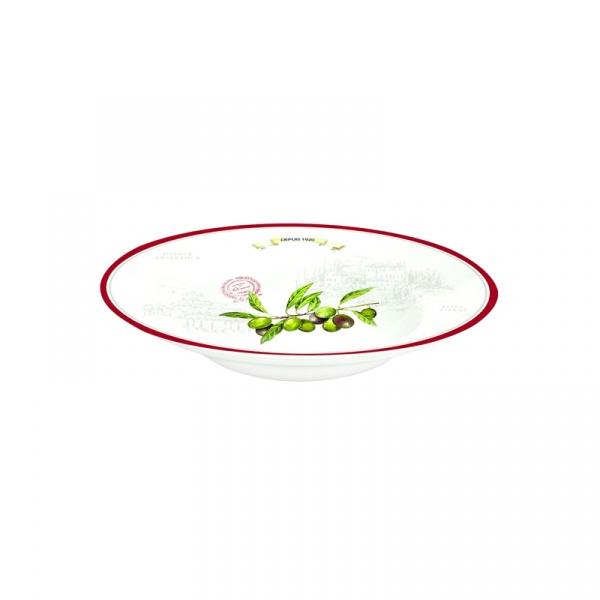 Misa porcelanowa Nuova R2S Bistrot Olives duża 818 OLIV