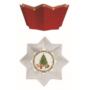 Misa świąteczna 20 cm Nuova R2S czerwona
