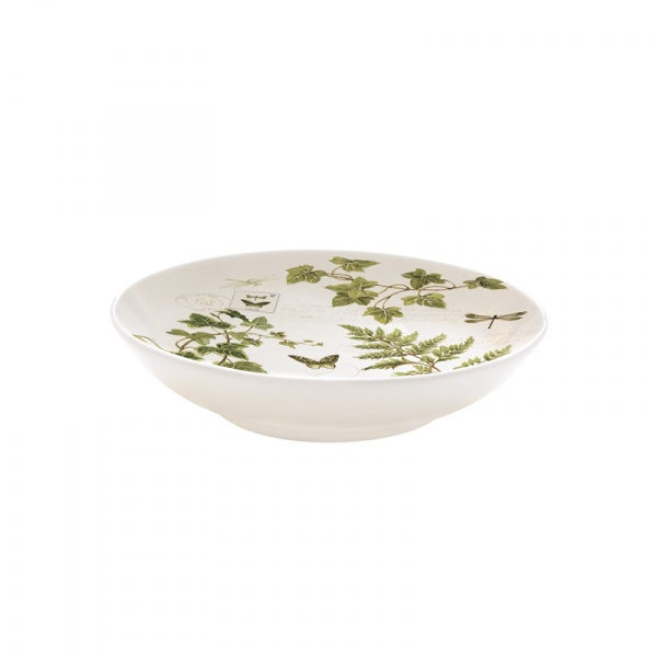 Misa z porcelany 10cm Nuova R2S Romantic liście 338 IVIE