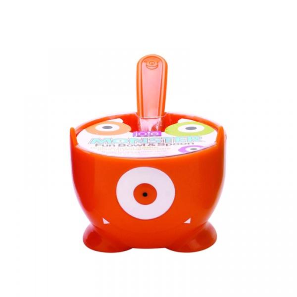 Miseczka na lody z łyżeczką MSC International pomarańczowa MS-15000-POM