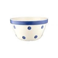 Miska kuchenna 2,5l Mason Cash Spot&Stripes niebieskie kropki