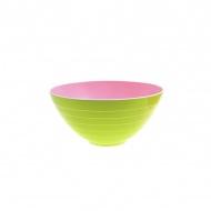 Miska na sałatki 25 cm Zak! Designs mała różowo-zielona