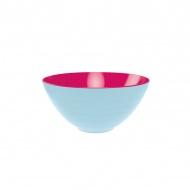 Miska na sałatki 28 cm Zak! Designs duża niebiesko-różowa