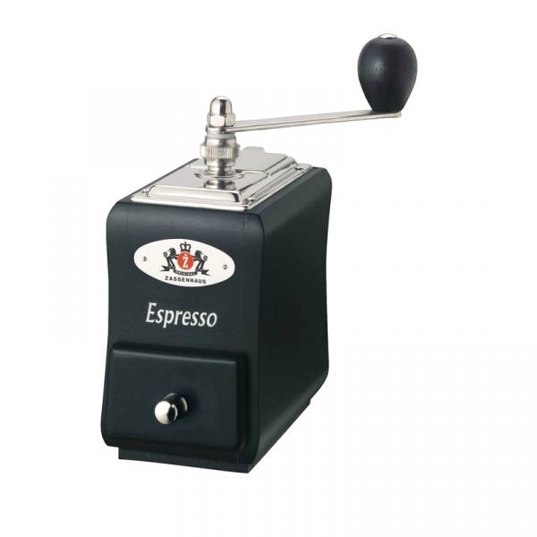 Młynek do espresso 20 cm Zassenhaus Santiago czarny ZS-040135