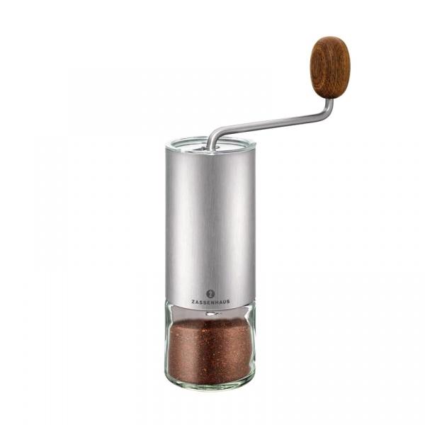 Młynek do kawy/espresso 22 cm Zassenhaus Quito stalowy ZS-041095