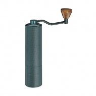 młynek do kawy, śred. 4,5 x 19 cm, 23 g, aluminium/stal nierdzewna, zieleń grafitowa