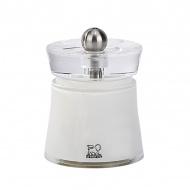 Młynek do soli 8 cm Peugeot Bali biały