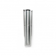 Mocowanie suszarki ogrodowej 35mm Brabantia srebrne