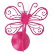 Motylek kinkiet czerwony LP-14030/1W CZERWONY