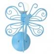 Motylek kinkiet niebieski LP-14031/1W NIEBIESKI