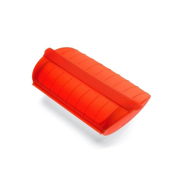 Naczynie żaroodporne Lekue małe czerwone 3400600R10U004